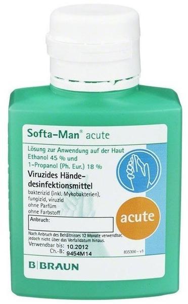 B. Braun Softa Man acute Kittelflasche (100 ml)