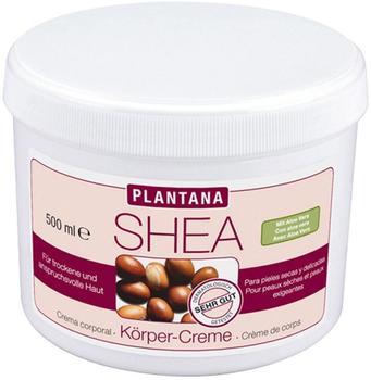 Plantana Shea Butter Körper Creme (500ml)