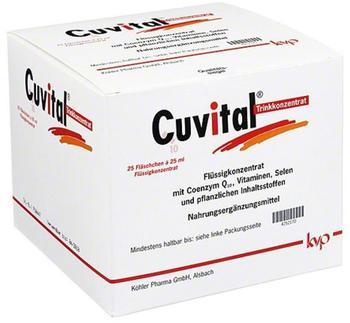 Köhler Pharma Cuvital Flüssigkonzentrat 25 ml (25 Stk.)
