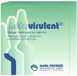 meta Fackler Arzneimittel GmbH METAVIRULENT 100x2 ml