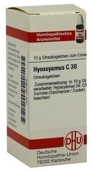 DHU Hyoscyamus C 30 Globuli (10 g)