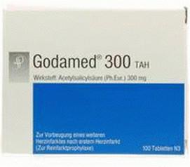 Godamed 300 mg TAH Tabletten (100 Stk.)