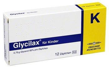 Glycilax Suppositorium fuer Kinder (12 Stk.)