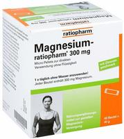 Ratiopharm MAGNESIUM RATIOPHARM 300 mg Micro Pell.m.Gran.