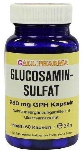 Bios Naturprodukte Glucosaminsulfat Kapseln 250 mg (60 Stk.)
