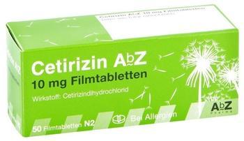 AbZ Pharma GmbH Cetirizin AbZ 10mg Filmtabletten 50 St.