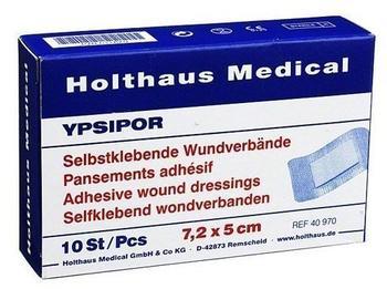 Holthaus Ypsipor 7,2 x 5 cm Wundverband Steril (10 Stk.)