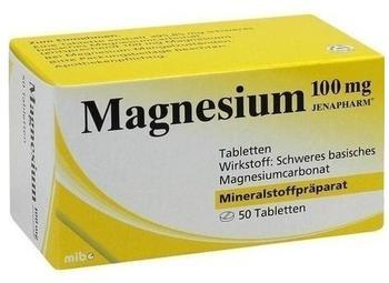 Magnesium 100 mg Jenapharm Tabletten (50 Stk.)