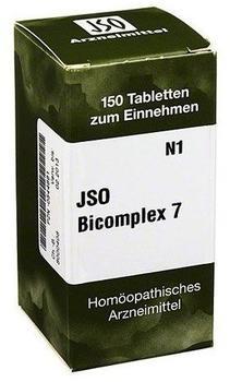 Iso-Arzneimittel Jso Bicomplex Heilmittel Nr. 7 Tabletten (150 Stk.)