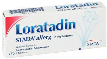 Loratadin 10 mg Allerg Tabletten (7 Stk.)