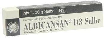 Sanum-Kehlbeck Albicansan D 3 Salbe (30 g)