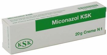 KSK-Pharma Vertriebs AG MICONAZOL KSK Creme 20 g