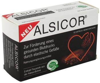 Alsitan Alsicor mit Kakao Flavanolen Kapseln (60 Stk.)