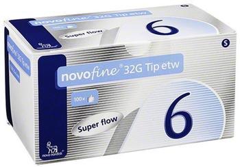 Novo Nordisk Novofine 6 mm Kanüle 32 G Tip Etw (100 Stk.)