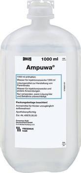 Fresenius Ampuwa Plastikflasche Inf.-Lsg.(10 x 1000 ml)