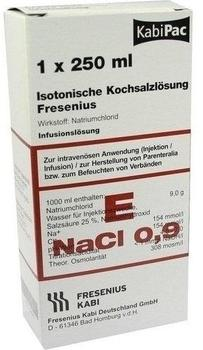 Fresenius Kochsalzloesung 0,9% Plastikfl.fresenius (10 x 250 ml)