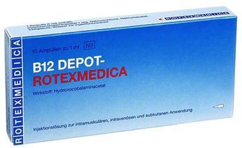 Panpharma GmbH B12 DEPOT ROTEXMEDICA 10x1 ml