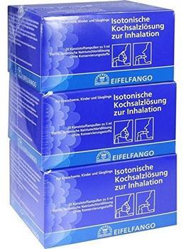 Eifelfango Isotonische Kochsalzlösung zur Inhalation (60 x 5 ml)