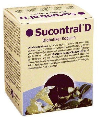 Sucontral D Diabetiker Kapseln (60 Stk.)