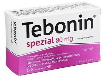 Tebonin Spezial 80 mg Filmtabletten (120 Stk.)