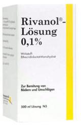 Dermapharm RIVANOL LOESUNG 0.1% 500 ml