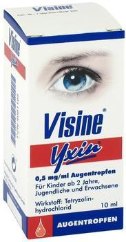 Johnson & Johnson Visine Yxin Augentropfen 10 ml