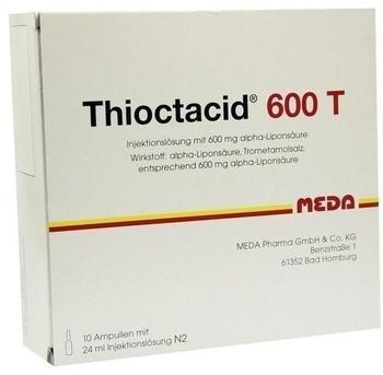 Thioctacid 600 T Ampullen (10 x 24 ml)
