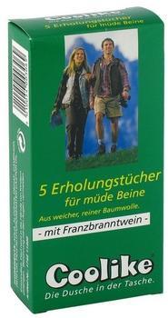 Coolike Erholungstuch müde Beine (5 Stk.)