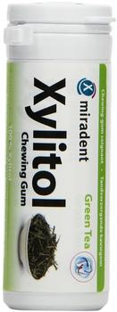 Miradent Xylitol Chewing Gum Green Tea (30 St.)