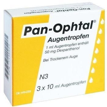 Pan Ophtal Augentropfen (3 x 10 ml)