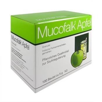 Mucofalk Apfel Granulat Beutel (100 Stk.)