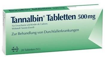 Tannalbin Tabletten (20 Stk.)