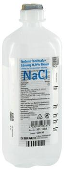B. Braun Kochsalzlösung 0,9% Ecoflac Plus (500 ml)