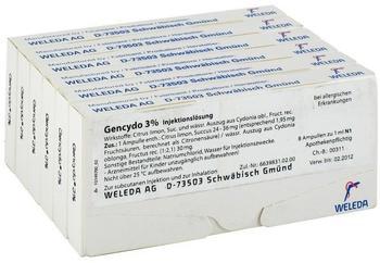 Weleda Gencydo 3% Ampullen (48 x 1 ml)