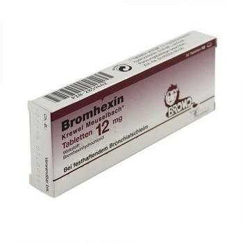 Bromhexin 12 mg Tabletten (50 Stk.)
