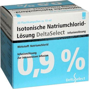 Deltaselect Kochsalzlösung 0,9 % (200 ml)