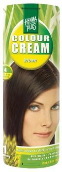 Hennaplus Colour Cream Brown 4 (60 ml)