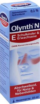 Olynth 0.1% N Schnupfen Dosierspray ohne Konservierungsstoffe (10 ml)