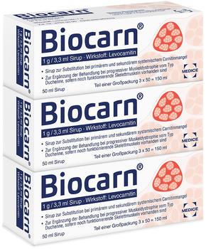 Biocarn Sirup (3 x 50 ml)