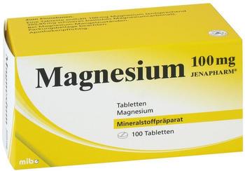 Magnesium 100 Mg Jenapharm Tabletten (100 Stk.)