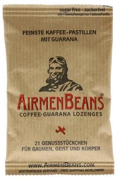 Airmenbeans feinste Kaffeepastillen mit Guarana (21 St.)