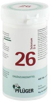 A. Pflüger Biochemie Pflueger 26 Selenium D 6 Tabletten (400 Stk.)