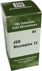 Iso-Arzneimittel Jso Bicomplex Heilmittel Nr 12, Tabletten (150 St)