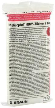B. Braun Meliseptol HBV Tücher Nachfüllpack (100 Stk.)