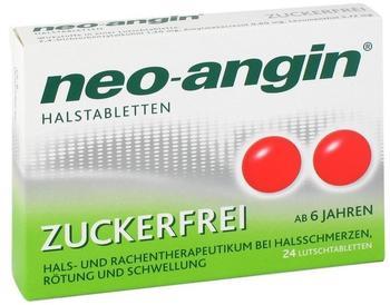 Neo-Angin Zuckerfrei Halstabletten (24 Stk.)