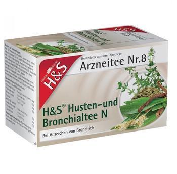 H&S Husten- und Bronchialtee N Nr. 8 (20 Stk.)