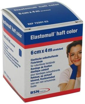 BSN MEDICAL GMBH Elastomull haft 4mx6cm color blau