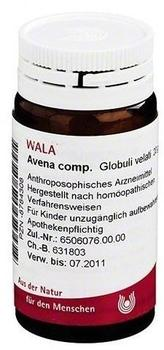 Wala-Heilmittel Avena Comp. Globuli (20 g)