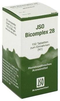 Iso-Arzneimittel Jso Bicomplex Heilmittel Nr. 28 Tabletten (150 Stk.)