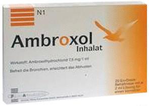 Ambroxol Inhalat Inhal.-lsg. (20 x 2 ml)
